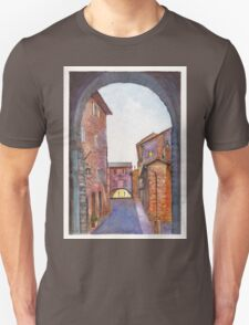 Assisi Street, Umbria, Italy T-Shirt