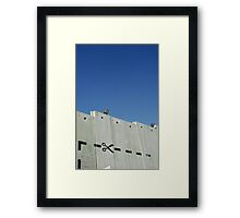 Graffiti - The West Bank Separation Wall, Palestine Framed Print