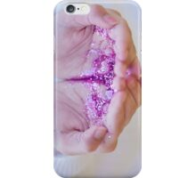 Hand full of glitter iPhone Case/Skin