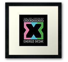 Chemical X Framed Print