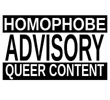 Queer Advisory version 1 Photographic Print