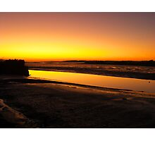 Irish Sundown - Tralee, County Kerry, Eire Photographic Print
