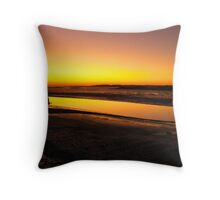 Irish Sundown - Tralee, County Kerry, Eire Throw Pillow
