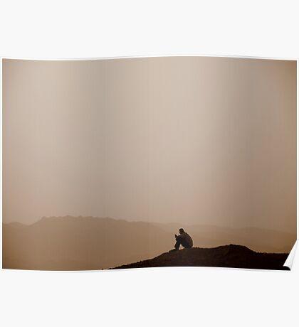 Red Sea Sunset, Jordan Poster