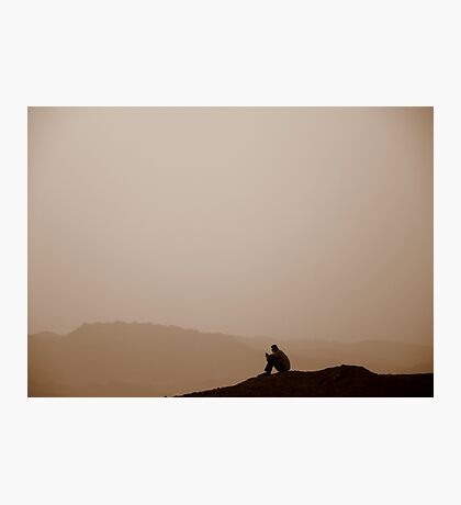 Red Sea Sunset, Jordan Photographic Print