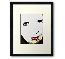 Jane 2 Framed Print