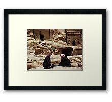 Petra Women Framed Print