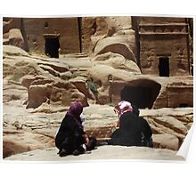 Petra Women Poster
