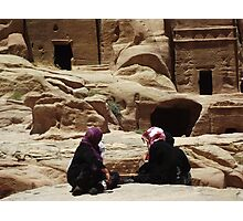 Petra Women Photographic Print
