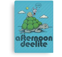 Afternoon Deelite. Canvas Print