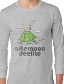 Afternoon Deelite. Long Sleeve T-Shirt