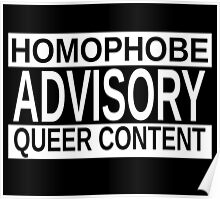 Queer Advisory version 2 Poster