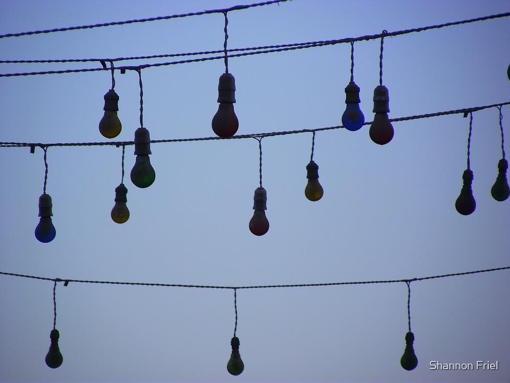 Light Bulb moment - Dahab Egypt by Shannon Friel