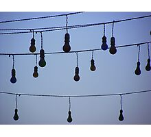 Light Bulb moment - Dahab Egypt Photographic Print