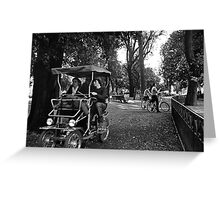 Rome, Villa Borghese Greeting Card