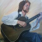 The guitarist by Gillian Ussher