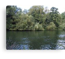 Tranquil Thames Canvas Print