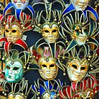 Venetian Opera Masks by GeorgeBuxbaum