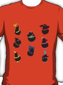 Jr & Koopalings Altogether - Sunset Shores T-Shirt