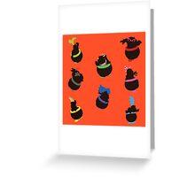 Jr & Koopalings Altogether - Sunset Shores Greeting Card