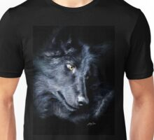 """The Look Back"" Timber Wolf Portrait Unisex T-Shirt"