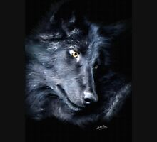 """The Look Back"" Timber Wolf Portrait T-Shirt"