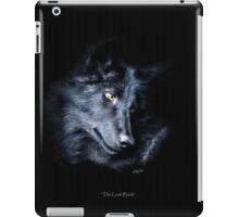 """The Look Back"" Timber Wolf Portrait iPad Case/Skin"