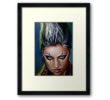 Electric Rush Framed Print