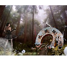 My Sista is a witch Photographic Print
