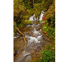 Big Hill Springs Photographic Print
