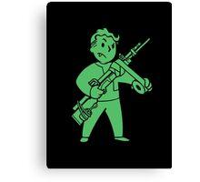 Fallout - JURY RIGGING Perk Canvas Print
