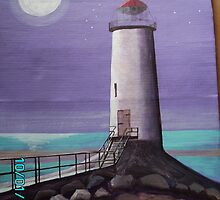 Lighthouse Talacre by RuthHunt