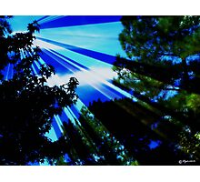 Let Your Light Shine Down on Me Photographic Print