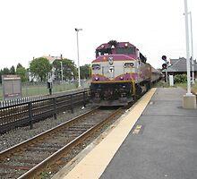 1124 MBTA Commuter Rail by Eric Sanford