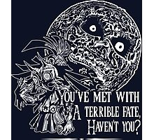 Terrible Fate Photographic Print