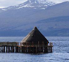 Crannog on Loch Tay by Paul Bettison
