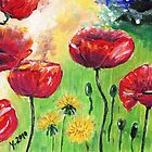 Poppies again by Yvonne Lautenschlaeger aka medea