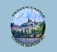 PRAGUE CASTLE TEE SHIRT  - PILLOWS - TOTE BAG- JOURNAL-ECT. Unisex T-Shirt