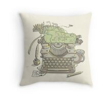 A Certain Type of City Throw Pillow