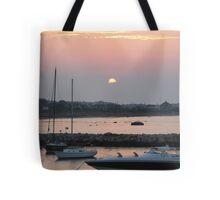 Old Harbor, Block Island Tote Bag