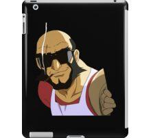 cowboy bebop spike spiegel jet black anime manga shirt iPad Case/Skin