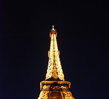 Golden Point - Eiffel Tower, Paris by 77degrees