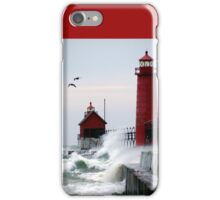 Lighthouse on the Lake iPhone Case/Skin
