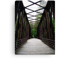Bridge to Nature Canvas Print