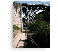 Iron Bridge - Telford Canvas Print