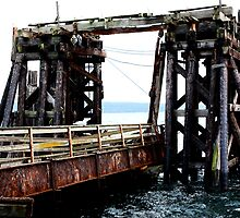 Aging Ferry Dock by SoftlyFalling