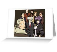 ghost in the shell motoko kusanagi batou section 9 anime manga shirt Greeting Card