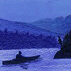 Moonlight Kayak by Brenda Scott