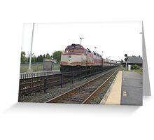 1058 MBTA Commuter Rail Greeting Card