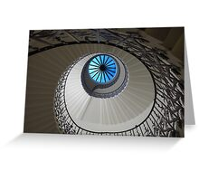 Spiral staircase - Greenwich Greeting Card